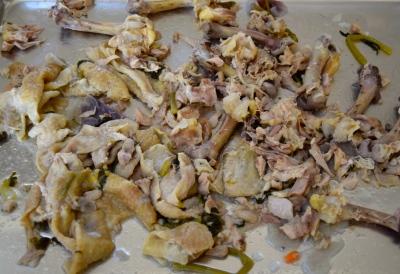 aunt bridget's chickens soup