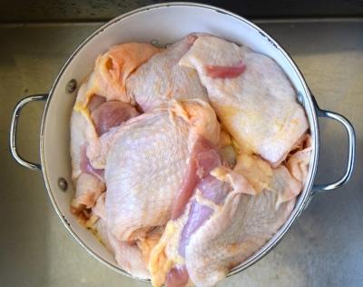 bridget's chicken soup
